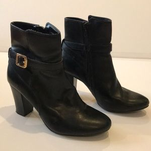 Merona Black Ankle Boots